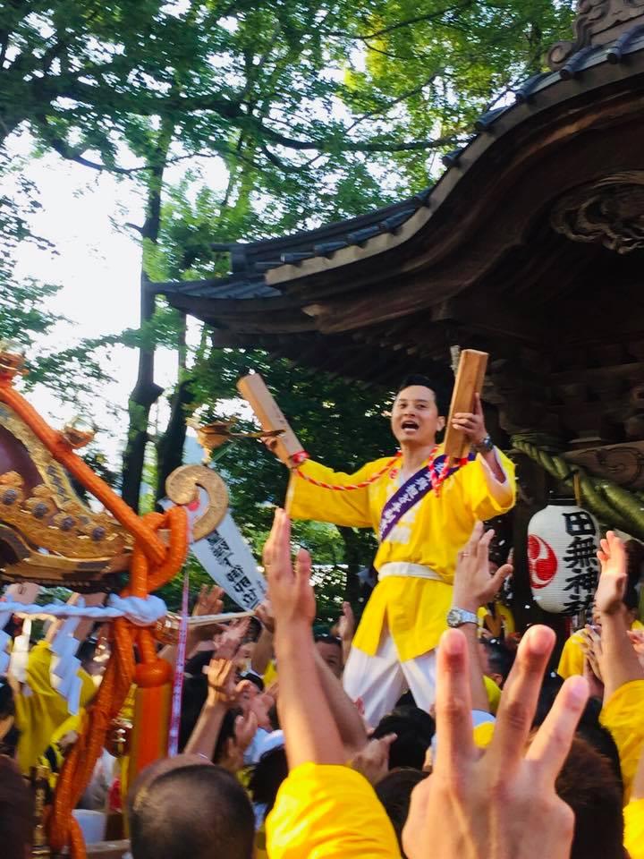 田無神社例大祭にて