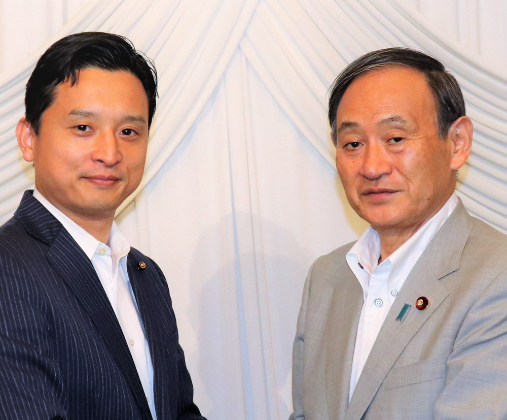 菅総理大臣と
